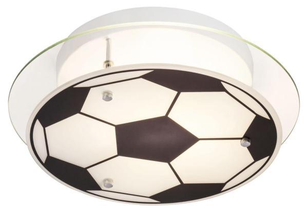 Kinderzimmerlampe Junge Decke im Fussball-Design