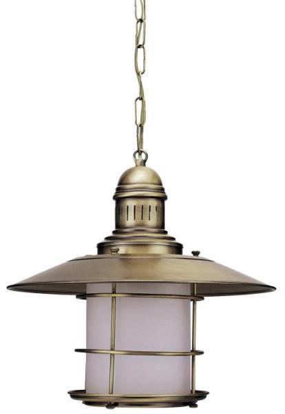 Pendelleuchte aus Glas bronze 1 flammig E27 Sudan
