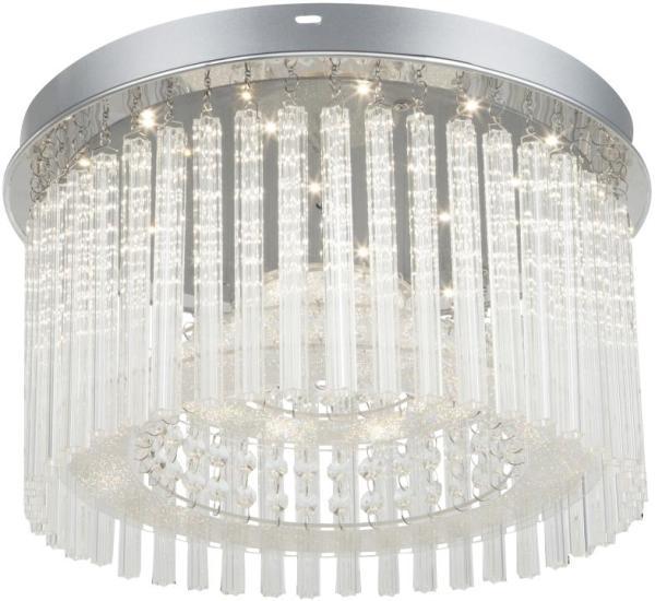 LED Deckenleuchte 18W 1500lm chrom neutralweiß 4000K
