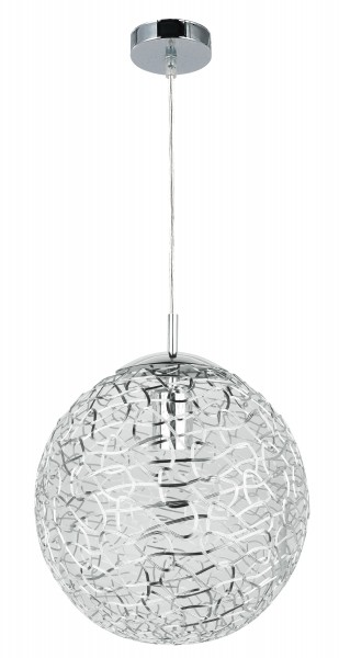 Pendelleuchte modern aus Metall chrom Adria E27
