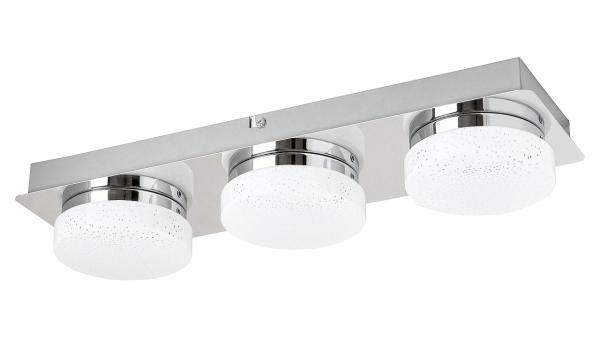 LED Deckenleuchte chrom/Opalglas LED-Board 15W A+ 4000K 1200lm IP20