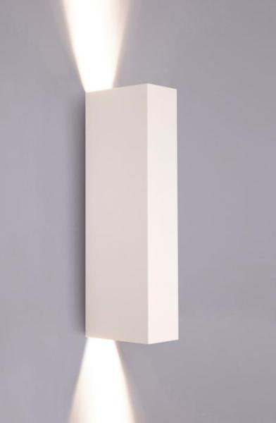 Wandleuchte weiß aus Metall MALMO GU10