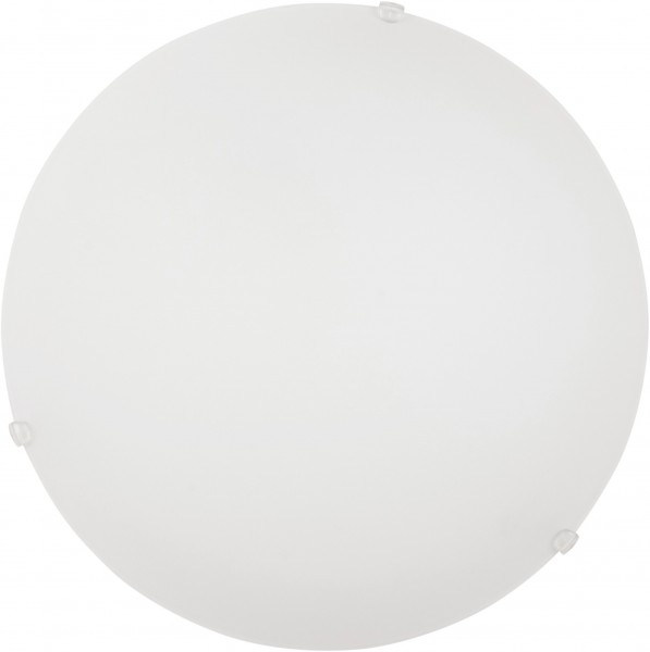 Klassische Deckenleuchte weiß E27