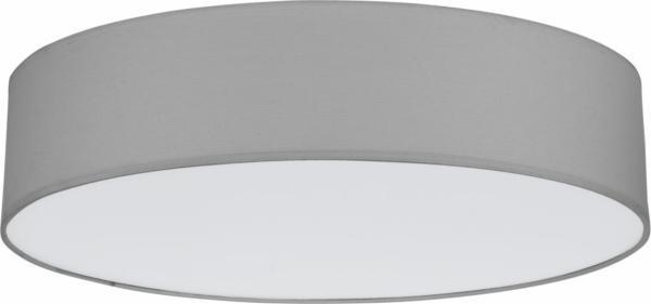 Deckenleuchte RONDO grau aus Stoff/Metall/PVC Ø610mm