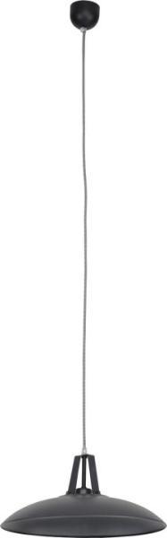 Pendelleuchte aus Metall graphit 1 flammig E27 DHELI