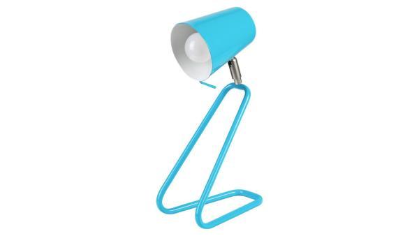 Tischleuchte blau Metall E14 1X MAX 25W IP20
