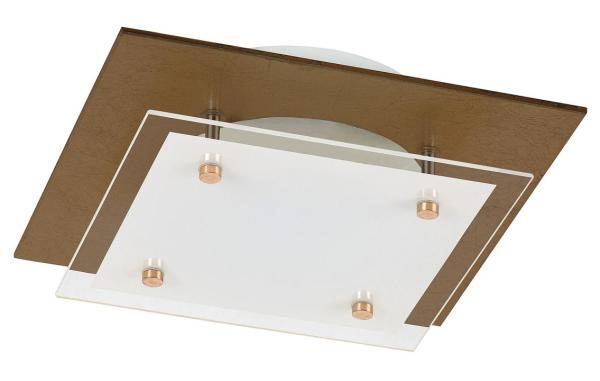 LED Deckenleuchte 24W 1920lm Bernstein warmweiß 3000K