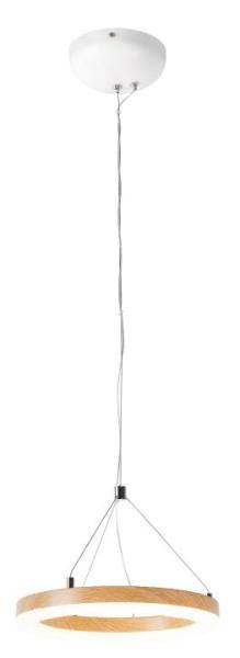 LED Pendelleuchte weiß 15W 3000K 900lm