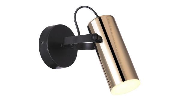 Raven, LED Spotlight, Schwarz-Gold