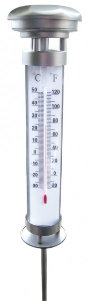 Solar-Thermometer inkl. LED Beleuchtung