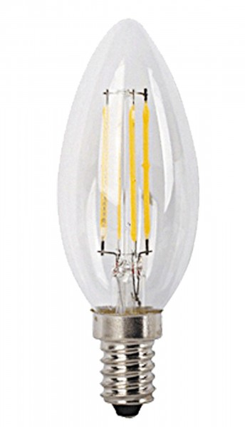 LED Filament Leuchtmittel E14 4W 2700K warmweiß