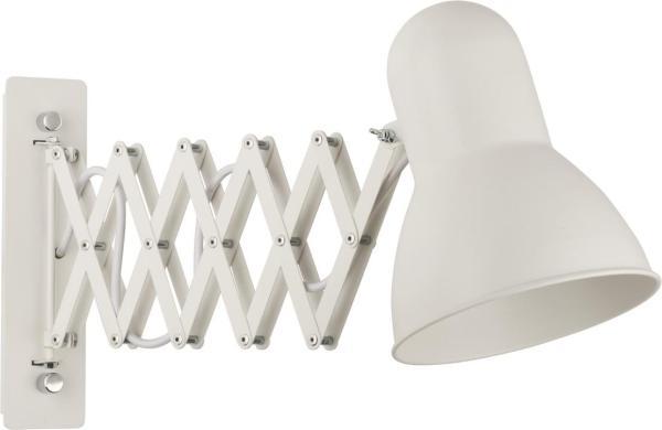 Wandleuchte weiß aus Metall HARMONY E27