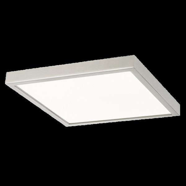 Funktionale LED Deckenleuchte chrom 36W Lois Metall/Kunststoff 3000K warmweiß 2500lm