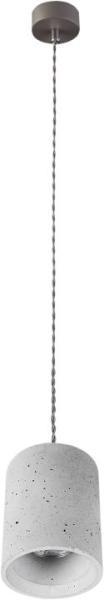 Pendelleuchte modern aus Gips grau SHY GU10