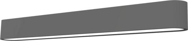 LED Wandleuchte grau 11W 3000K 1000lm Soft