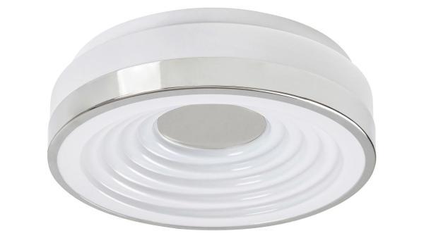 LED Deckenleuchte chrom/Opalglas LED-Board 18W A 3000K 1130lm IP20