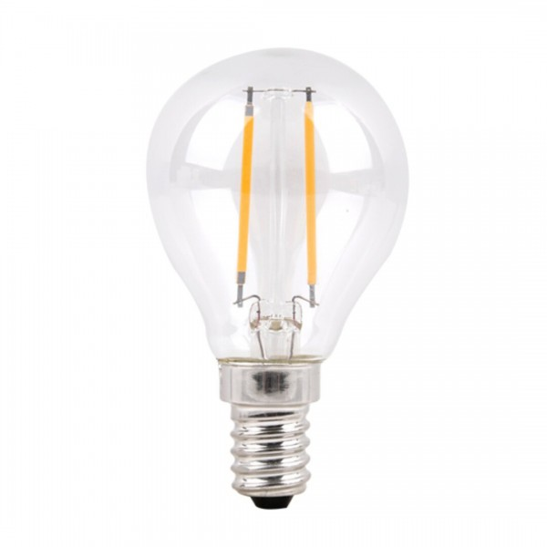 Filament-LED E14 G45 4W 420Lm 4000K dimmable LED