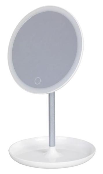 Schminkspiegel mit Beleuchtung LED weiß rund