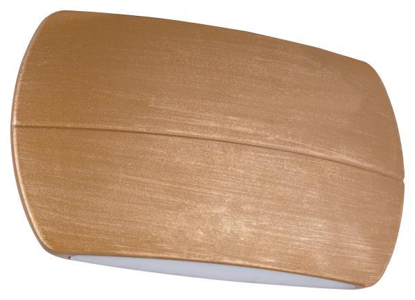 LED Außenwandleuchte REYNOSA golden ocker 110x200mm