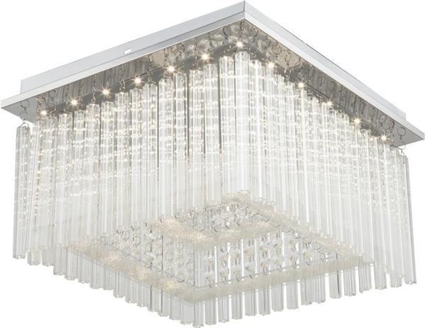 LED Deckenleuchte 21W 1750lm chrom neutralweiß 4000K