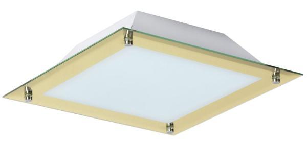 LED Deckenleuchte 18W 1440lm gold warmweiß 3000K Lars