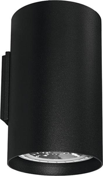 Wandleuchte schwarz aus Metall up down GU10/ES111