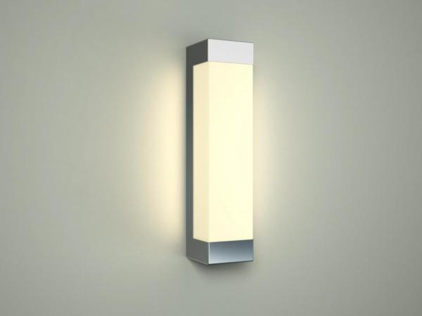 LED Wandleuchte chrom 8W 4000K 420lm