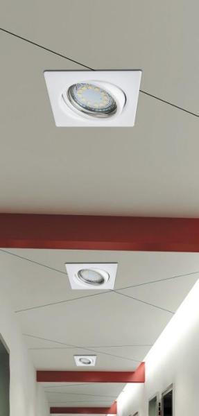 Lite Einbauleuchte modern Metall weiß Einbaustrahler Spot Deckenstrahler GU10 3W