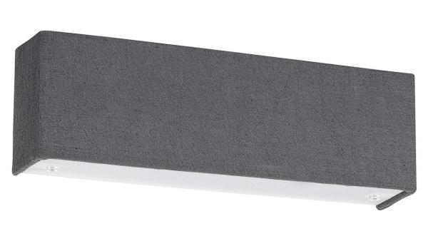 LED Wandleuchte grau/weiß