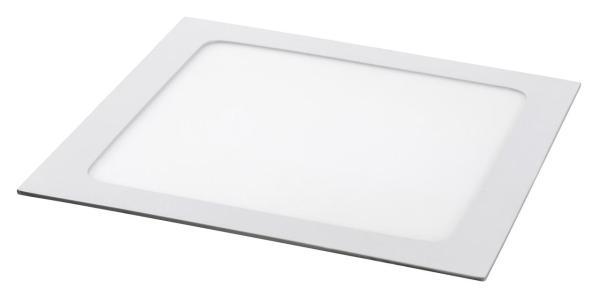 LED Einbauleuchte LOIS mattweiß naturalweiß quadratisch 220mm