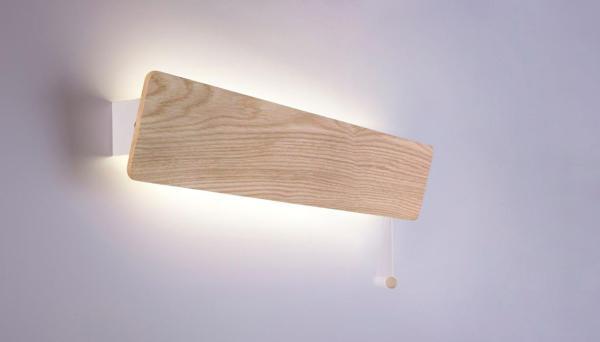 LED Wandleuchte beige 10W 3000K 900lm