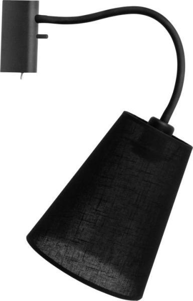 Wandleuchte mit Schalter FLEX schwarz modern