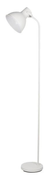 Stehlampe Metall weiß Derek Nordic-Design