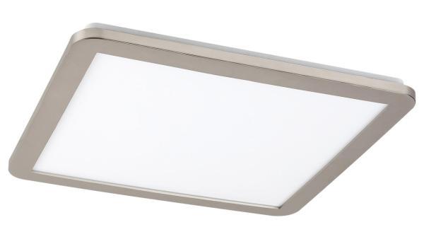 LED Deckenleuchte silber/Opalglas LED-Board 24W A 3000K 1500lm IP44