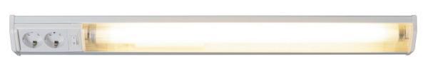 Bath Unterbauleuchte funktional Metall/Kunststoff weiß Schrankleuchte Küchenlampe Lichtleiste T8 18