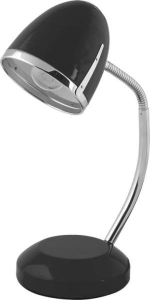 Schreibtischlampe schwarz Metall E27 POCATELLO