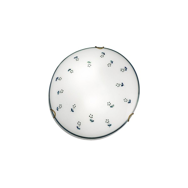 LED Deckenleuchte MOON Altmessing 1-flammig