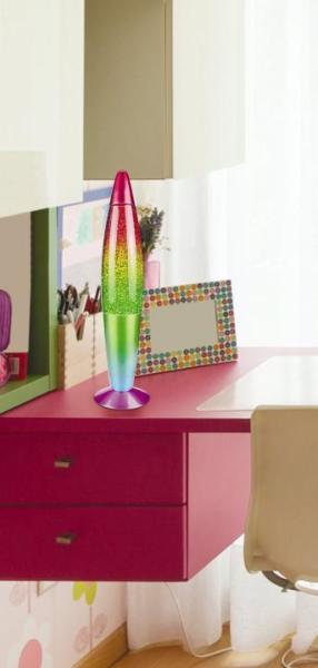 Rainbow Glitterlampe