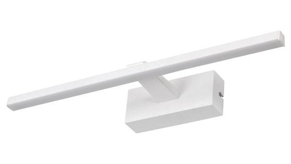 LED Wandleuchte matt weiss LED-Board 8W A 4000K 450lm IP23