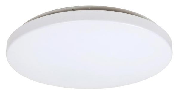 LED Deckenleuchte ROB in weiß warmweiß in rund Ø380mm