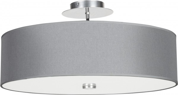 Deckenleuchte E27 VIVIANE grau modern