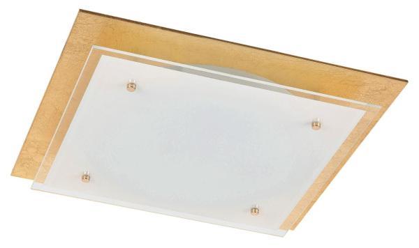 LED Deckenleuchte 24W 1920lm gold warmweiß 3000K