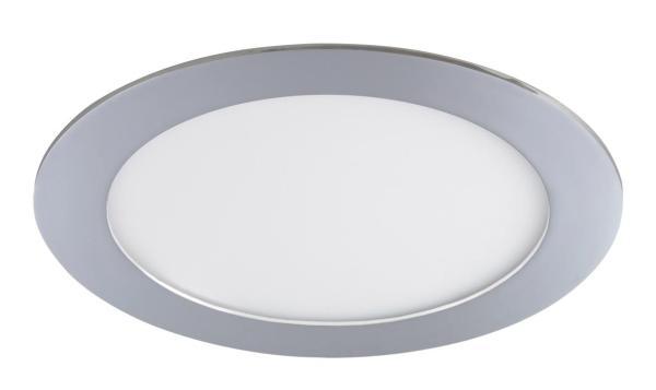LED Einbauleuchte LOIS in chrom naturalweiß Ø170mm