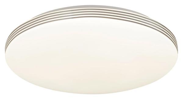 LED Deckenleuchte 18W 1350lm weiß/chrom neutralweiß 4000K