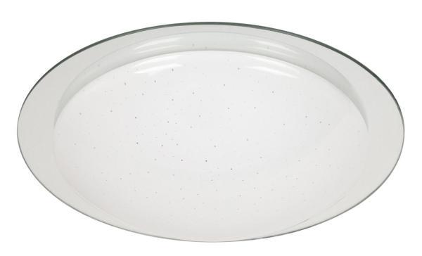 Minneapolis Deckenleuchte modern Metall/Kunststoff/Glas chrom Deckenlampe LED-Board 18W