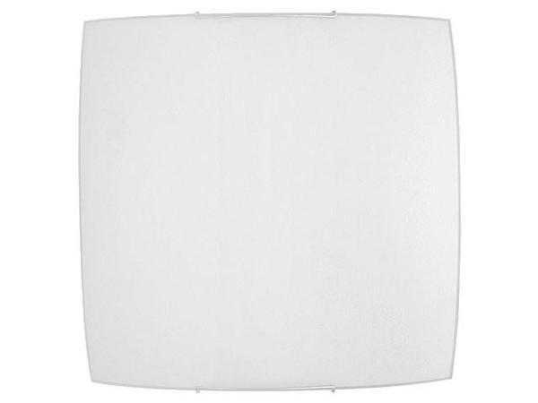 Weiße Deckenleuchte aus Glas E27