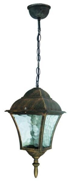 Toscana Außendeckenleuchte klassisch Metall/Glas antikgold Außenleuchte Deckenlampe Außenlampe E27 6