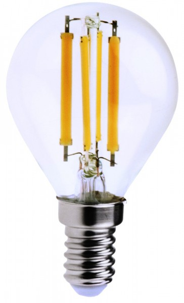 Filament LED, 6W, 3000K, Ø45mm