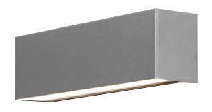 Wandleuchte modern silber aus Metall E14