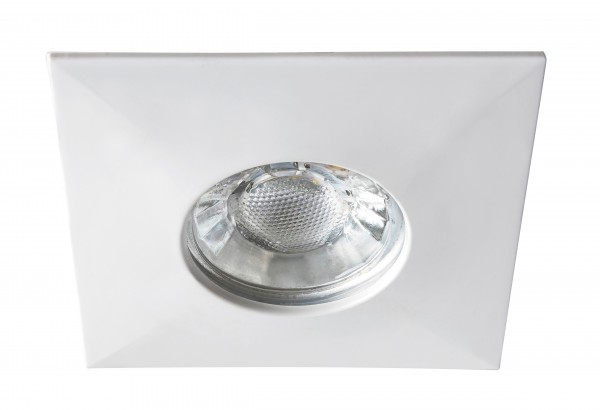 LED Einbaustrahler weiß warmweiß eckig 4W